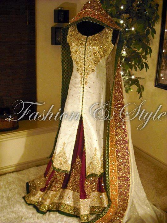Pakistani bridal dress :)