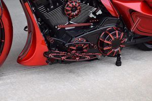 custom street glide #harleydavidsonstreetglidered