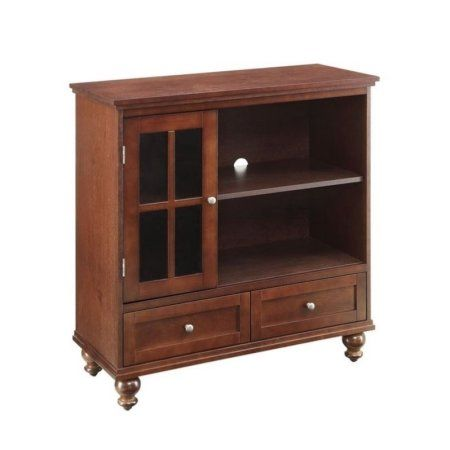 Convenience Concepts Espresso Designs2Go Tahoe Highboy TV Stand For TVs up to 42 inch, Brown
