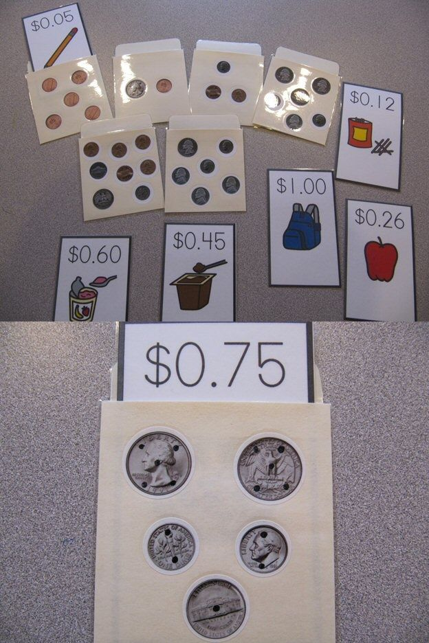 Money Library Pockets - With and Without Touch Dots