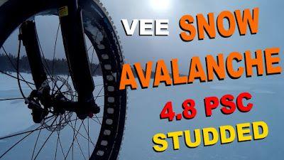 Vee Snow Avalanche | Winter White Wonder ~ Fatbike Republic