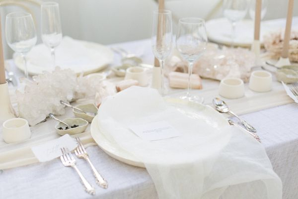 Boheme Neutral table setting design