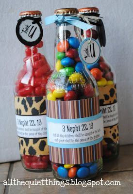 Cute idea to spotlight next years teachers and give them a thank you gift.