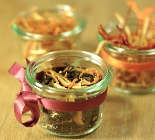 Eco regali di Natale – 3 idee a costo e impatto (quasi) zero. Preparat per a tisanes amb fruites.
