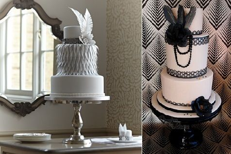 gatsby themed wedding cake 17 best images about vintage cakes with feathers 1920 s 14651