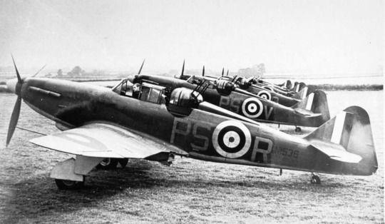 RAF Fighter Bolton Paul Defiant
