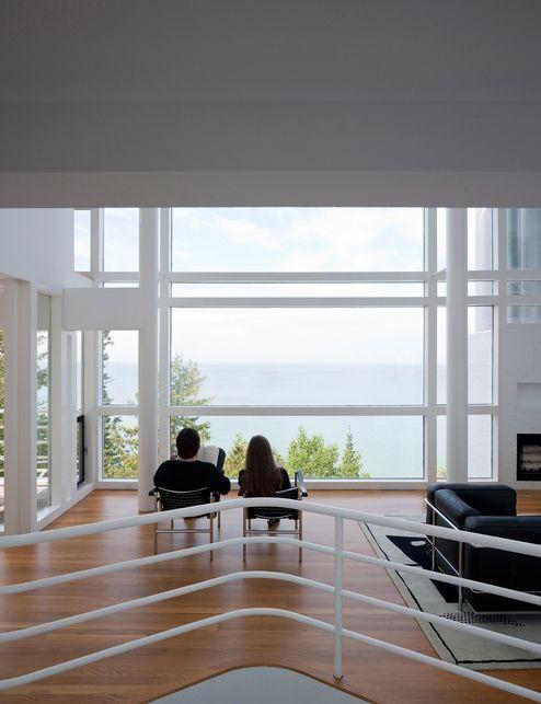 Восстановление классической: Ричард Мейер Дуглас дом,любезно обитать