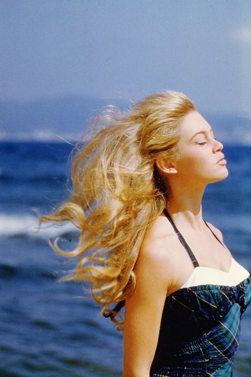 sharontates:  Brigitte Bardot in France, C. 1950's