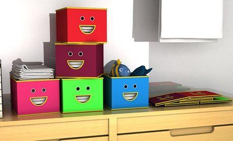 קופסת אחסון מעוצבת מקנבס