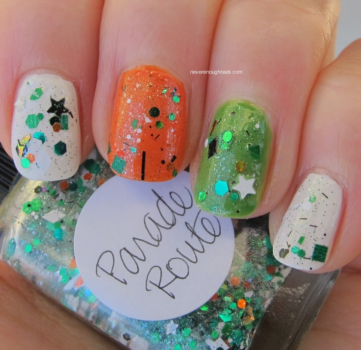 Never Enough Nails: Best St. Patrick's Day Polish Ever: Lynnderella Parade Route