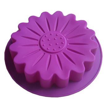 Lotus Type Muffin Candy Jelly Lce Silicone Mould Mold Baking Pan Tray Bakeware  B090