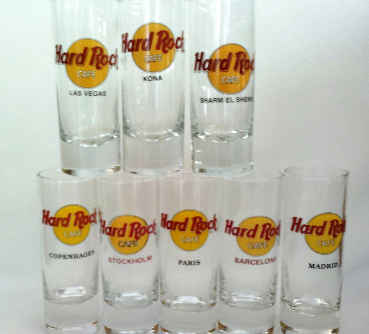 You can NEVER have too many shot glasses