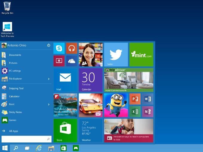 Windows 10 representa una esperanza para los fabricantes de computadoras
