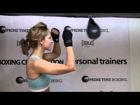 Boxing Drills: How to hit the speed bag. We just got a new bag. I saw results fast like within a few weeks in my back, shoulders and arms doing these boxing drills!!!