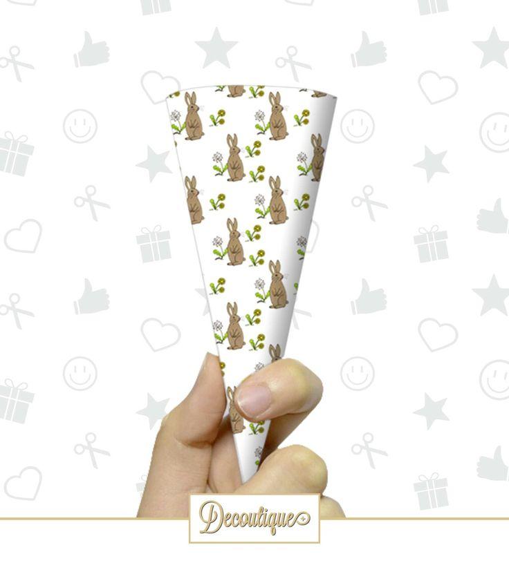 CONI PORTA RISO / CONFETTI / CARAMELLE #caramelle #confetti #riso #party #festa #eggs #uova  #pasqua #pasquetta #bunny #coniglio #flower #fiore #natura #animali Codice: CPP018 Prezzo: 0,80 € Cad. Spedizione in Italia: 6,00 €  Per prenotare il tuoi Coni contattaci in privato o all'indirizzo email info@decoutique.it. Personalizza i tuoi Coni con lo stile più adatto a te. Affidati a noi per la tua proposta grafica!