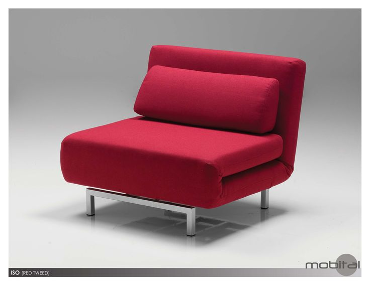 Isola Chair Bed In Red A Multifunctional Chair That