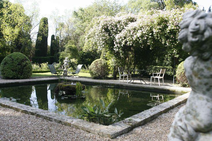 Flânerie et balade bucolique dans les jardins de l'Oustau de #Baumanière en Provence