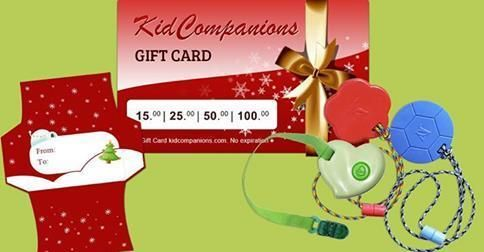 Birthday Gift for one who bites,chews, #fidgets?  Our electronic gift card can be emailed directly to the recipient OR printed and given in our FREE printable gift card holder. Gift Cards can be used online and have ✔ no expiration date. - See more at ⇢ http://kidcompanions.com/product/gift-card/  #GiftsForSpecialNeeds #GrandParents #AutismFamily
