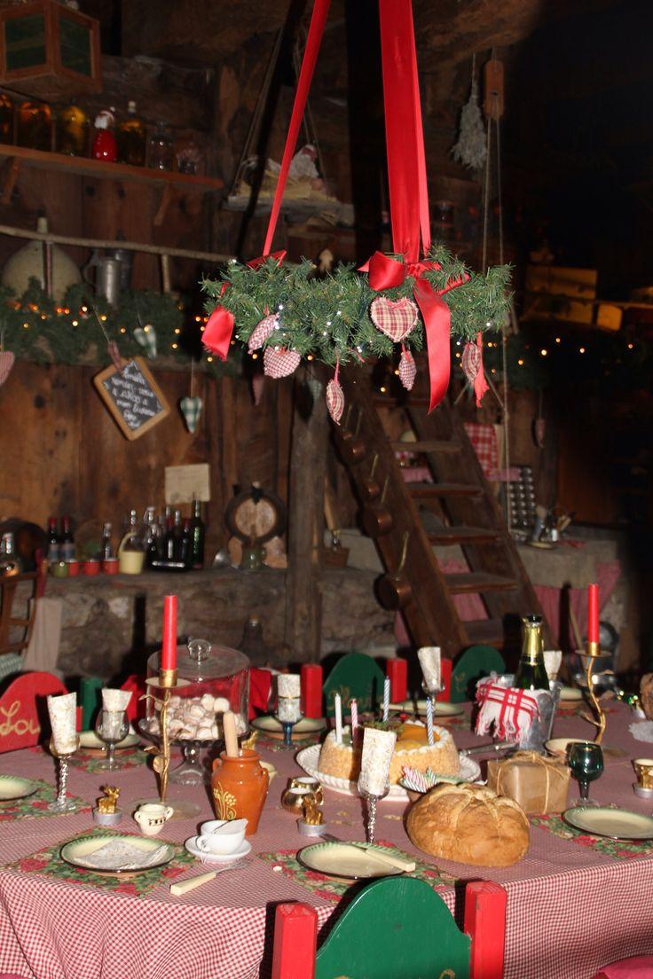 Hameau du Père Noël au Col du Mont Sion