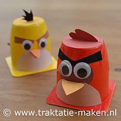 Afbeelding van de traktatie Angry Birds