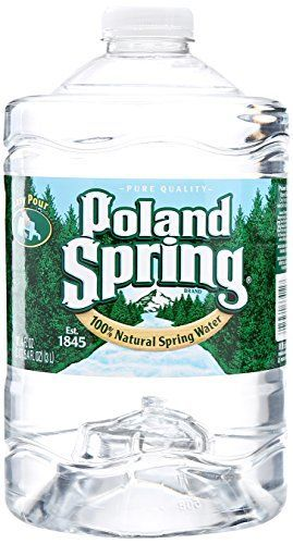 Poland Spring Brand 100% Natural Spring Water, 101.4 Oz P