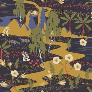 Flyttfrö 1479 - Wonderland - Boråstapeter