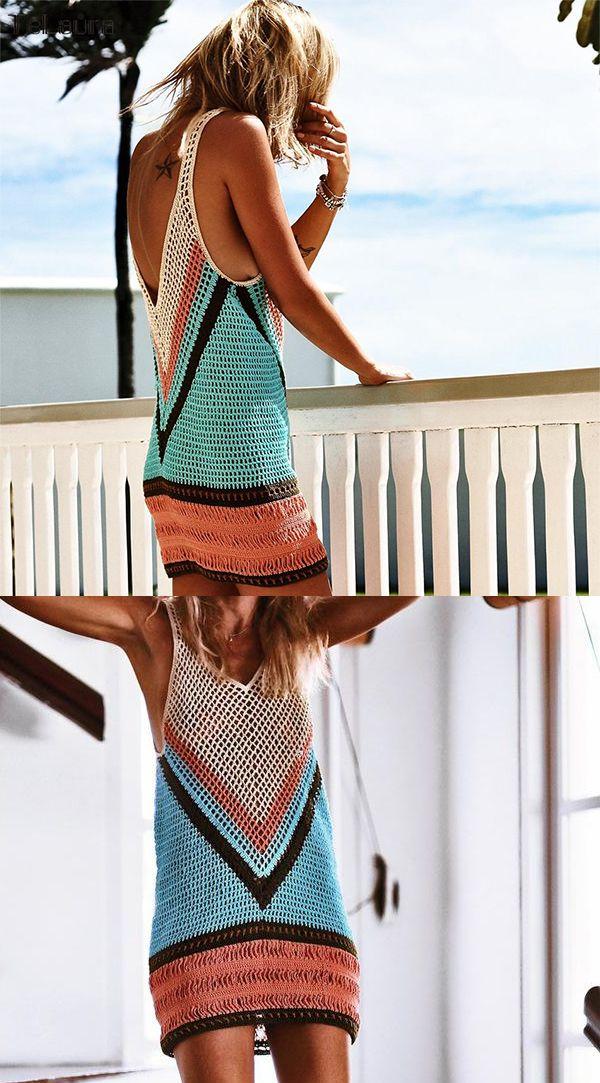 Crochet Free Spirit | Beach Cover Up 5