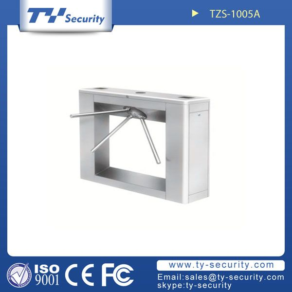 Bridge-shaped waist height turnstiles TZS-1005A
