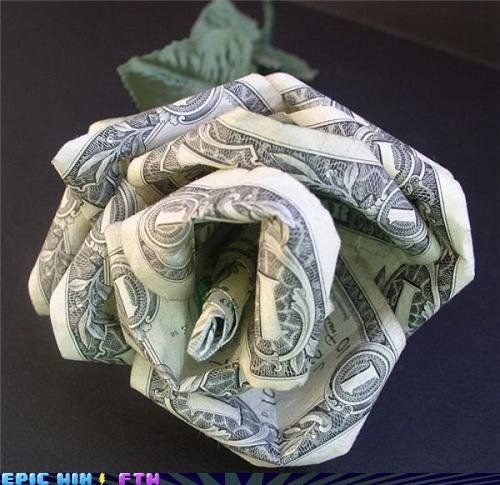money made out of roses