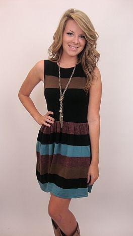 Savannah Sweater Dress, Black