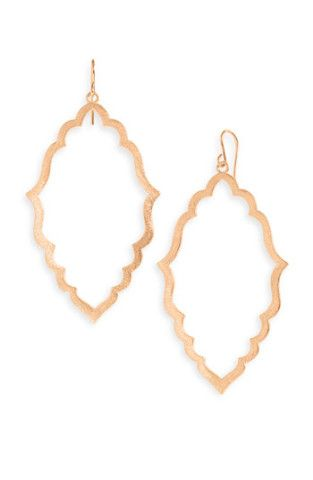 Dogeared Moroccan Hoop Earrings