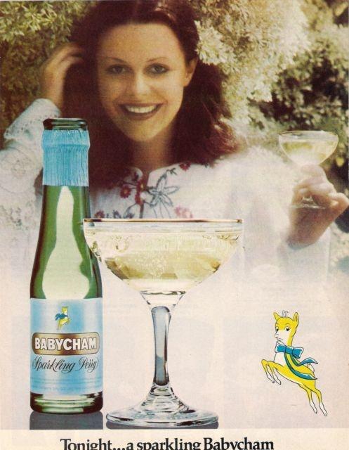 Original Vintage Magazine Advert Babycham Tonight A Sparkling Babycham #2   eBay