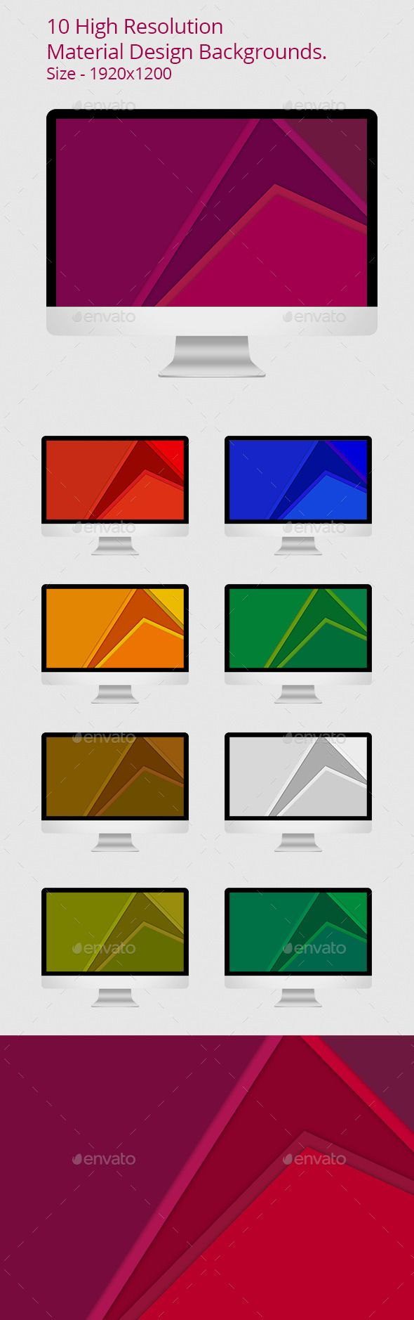 Material Design Backgrounds by design_kd 10 high resolution unique backgrounds inspired by Google Material Design. Suites for web background, desktop background, presentat