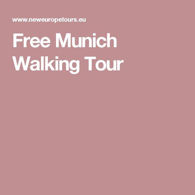 Free Munich Walking Tour
