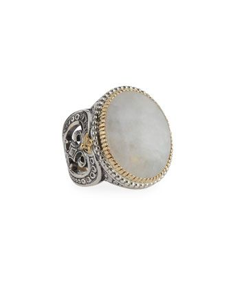 Erato+Oval+Labradorite+Doublet+Ring,+Size+8+by+Konstantino+at+Neiman+Marcus+Last+Call.