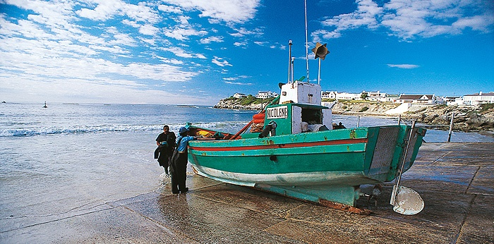 Arniston in the Western Cape, South Africa