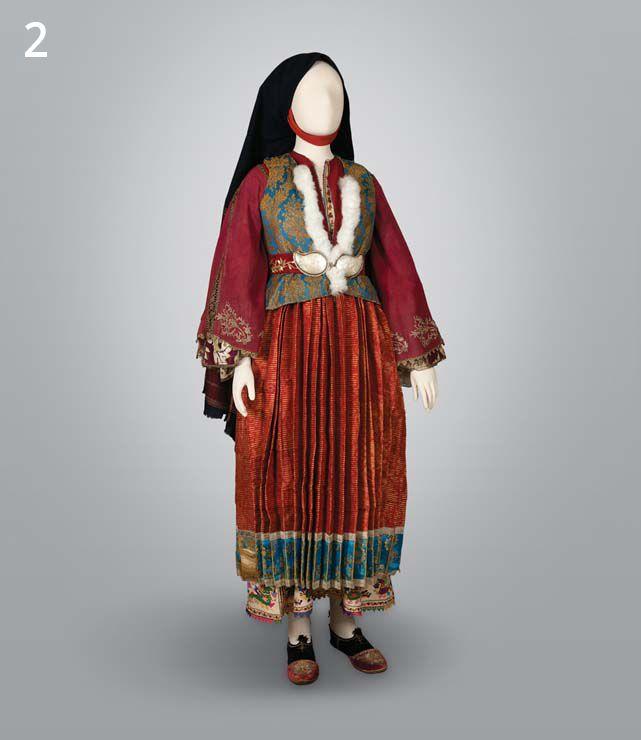 national costume in Skyros, Greece