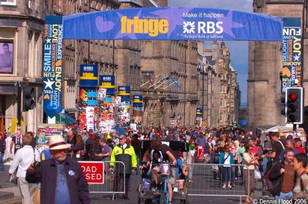 Fringe festival, Edinburgh (Scotland)