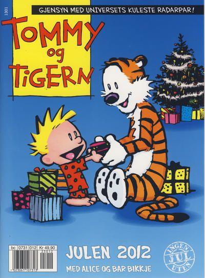 Cover for Tommy og Tigern julehefte [Tommy & Tigern julehefte] (Egmont Serieforlaget, 2008 series) #2012
