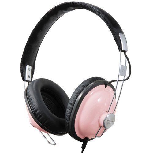 Panasonic RP-HTX7-P1 Stereo Headphones (pink)