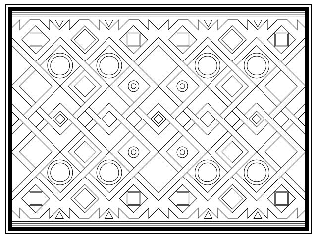 Abstract Cross Coloring Pages : Best coloring books adults images on pinterest