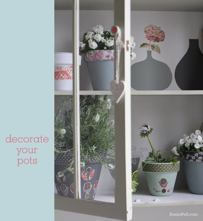 Quick Idea : Liberty Plant Pots   Sania Pell   Freelance Interior Stylist,  Consultant And Creative Director, London