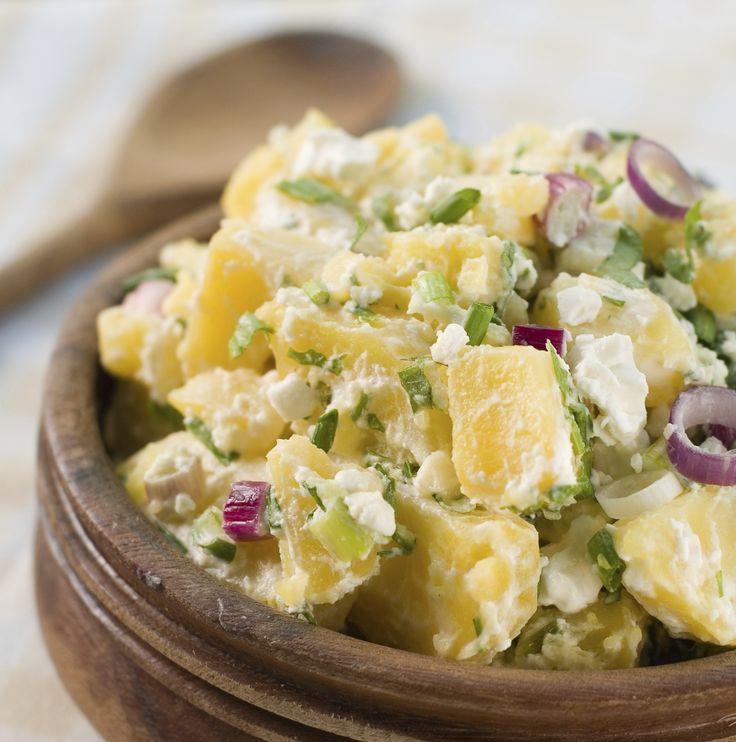6 tartalmas, laktató saláta burgonyából! Egyszerű és nagyszerű, tetszik! :)