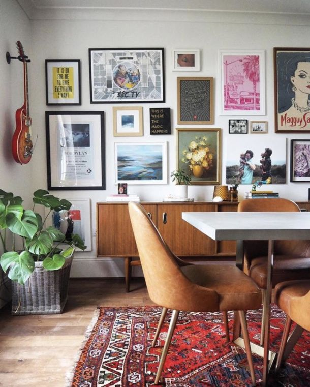 Tips On Styling And Buying Vintage For Your Home The Frugality Blog Decoration Salon Salle A Manger Vintage Decoration Murale De Salle A Manger