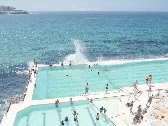 This Instant Download Printable Photo Was Captured At Bondi Beach