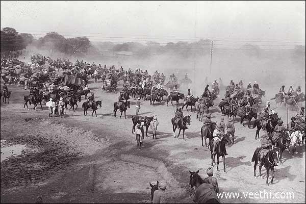 Grand Trunk Road as seen During British Rule, Ambala