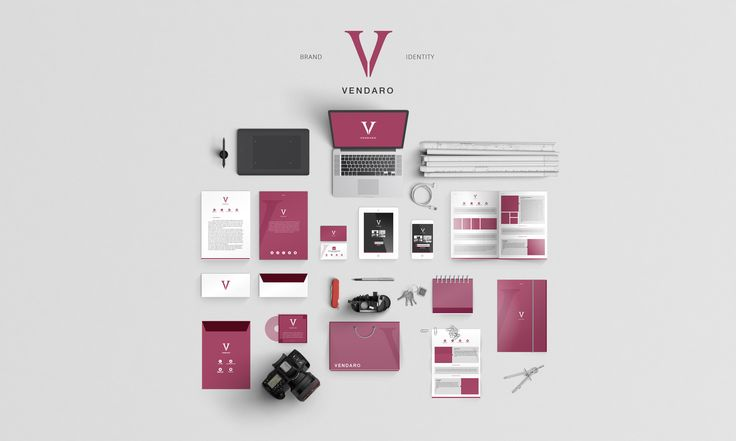 Vendaro Brand Identity by MusiqueDesigns on Creative Market