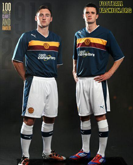 Motherwell FC PUMA 2012/13 Third Kit