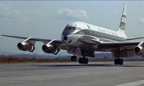 PP-PDS (cn 45272/118) Douglas DC 8-33 - Panair do Brasil. . Aeroporto Internacional do Galeão (GIG).Photo by Jose Siviera Junior
