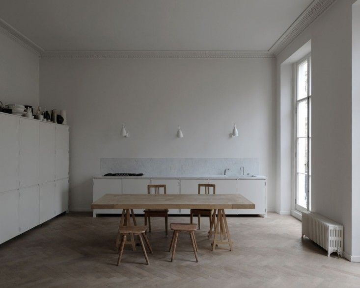 Kitchen of the Week: A Culinary Space Inspired by a Painting by Margot Guralnick. DRDH Architects London Flat | Remodelista